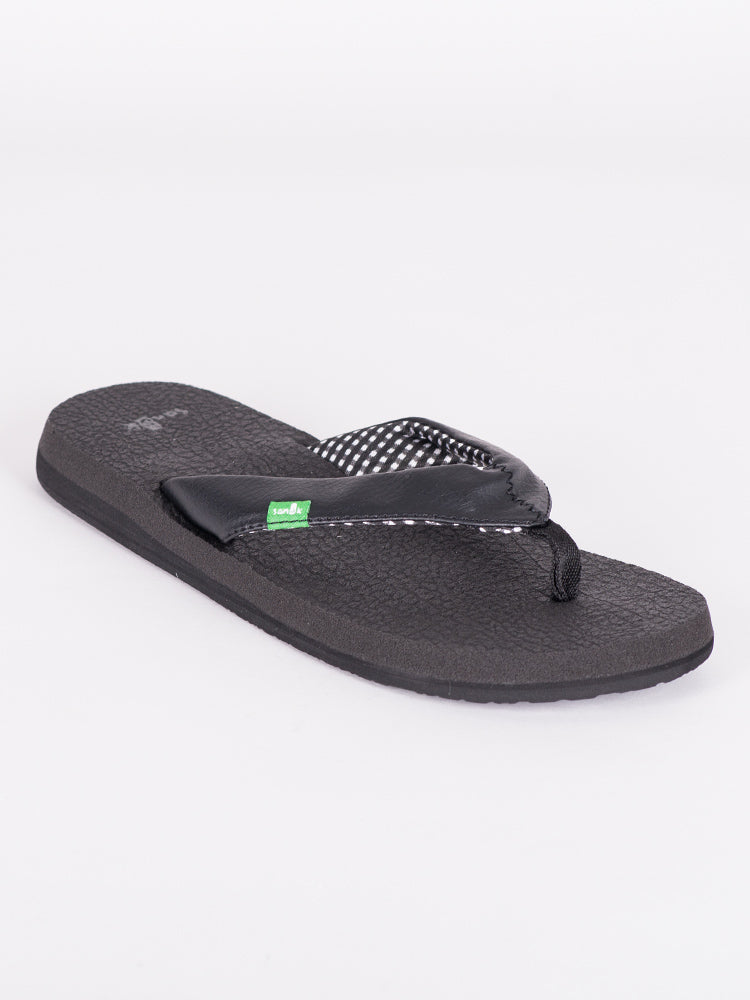 WOMENS YOGA MAT EBONY SANDALS