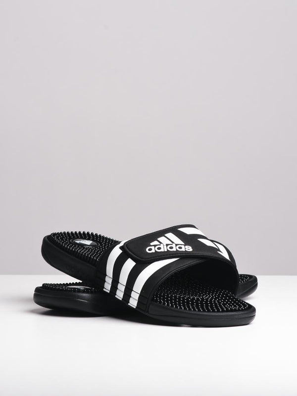 MENS ADISSAGE BLACK/WHITE SANDALS