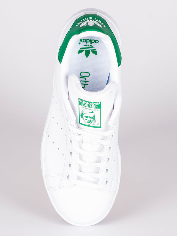 WOMENS STAN SMITH WHITE/GREEN SNEAKERS
