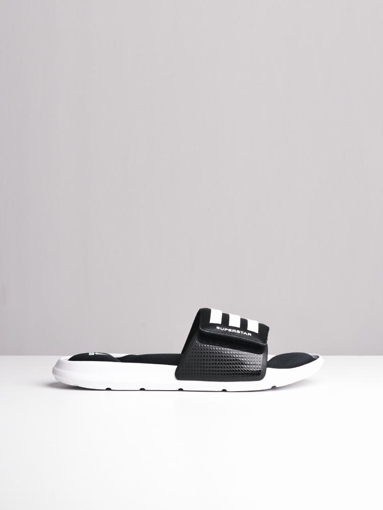 MENS SUPERSTAR 5G BLACK/WHITE SANDALS