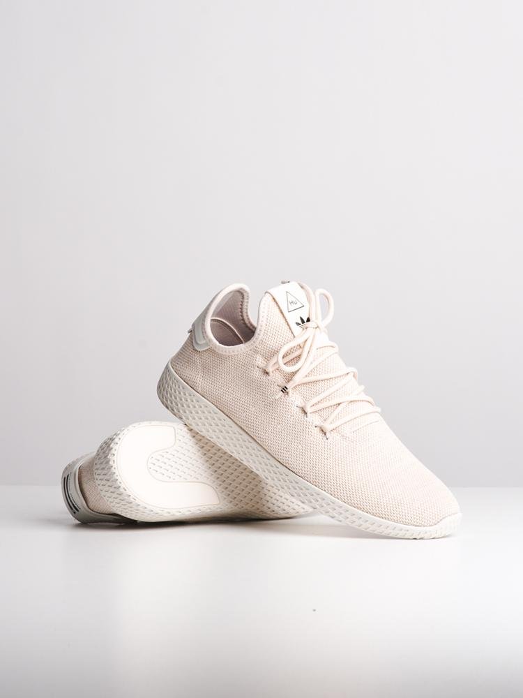 MENS PHARRELL WILLIAMS TENNIS HU LINEN/WHITE SNEAKERS- CLEARANCE