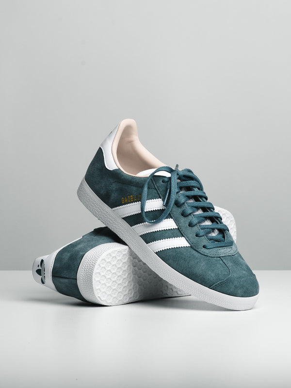 WOMENS GAZELLE W - RAW GREEN/WHITE