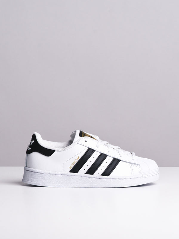 KIDS SUPERSTAR C WHITE/BLACK