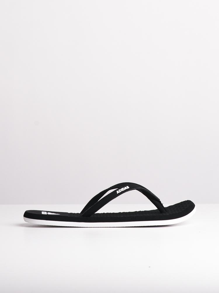 WOMENS EEZAY SOFT W CORE BLACK SANDALS- CLEARANCE