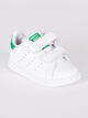 KIDS STAN SMITH CF I WHITE/GREEN - CLEARANCE