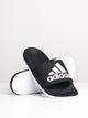 WOMENS ADILETTE COMFORT - BLACK/WHITE