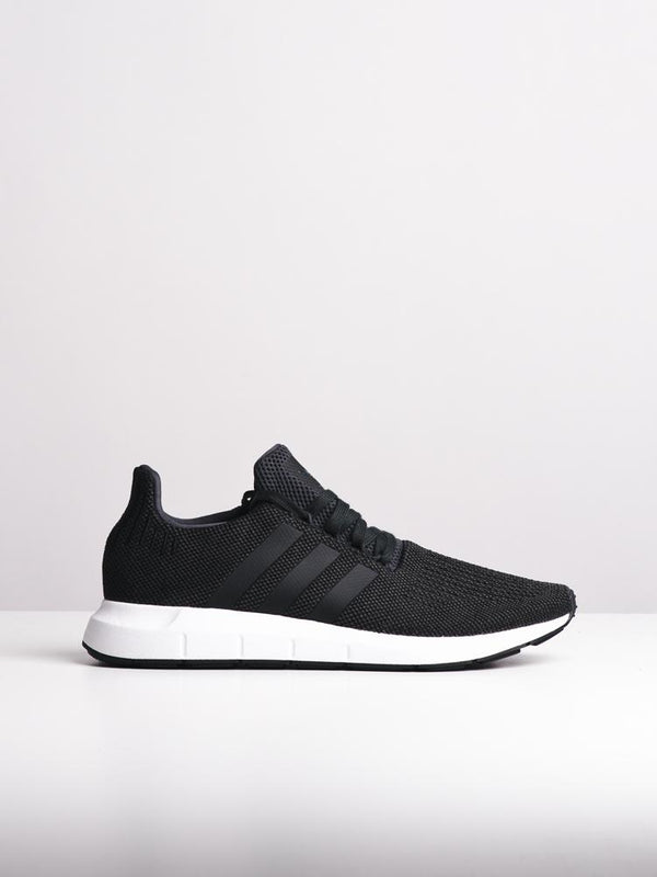 MENS SWIFT RUN CARBON/BLACK/GREY SNEAKERS- CLEARANCE