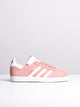 WOMENS GAZELLE W ASH PEARL/WHITE SNEAKERS- CLEARANCE