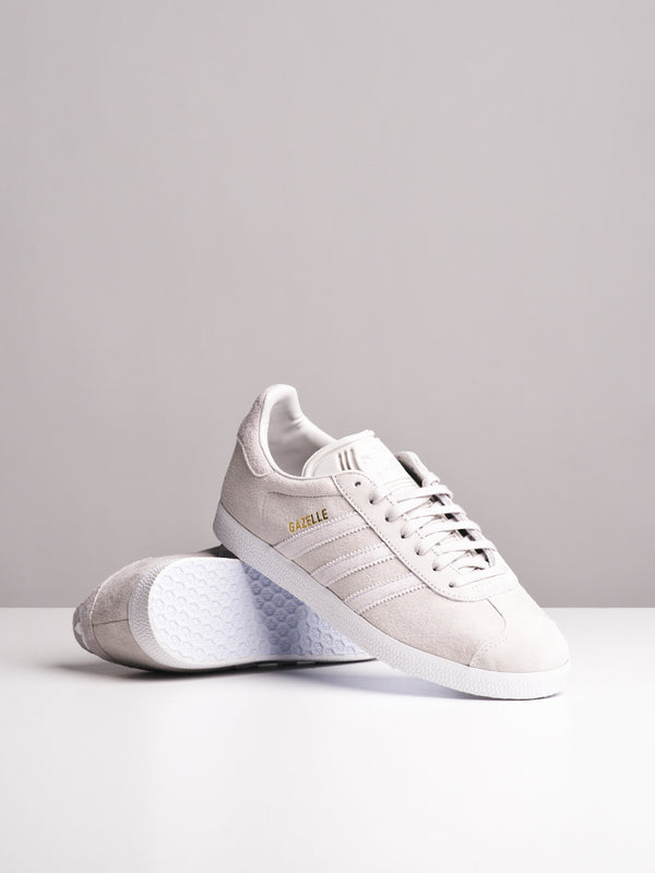 WOMENS GAZELLE W GREY/WHITE SNEAKERS- CLEARANCE