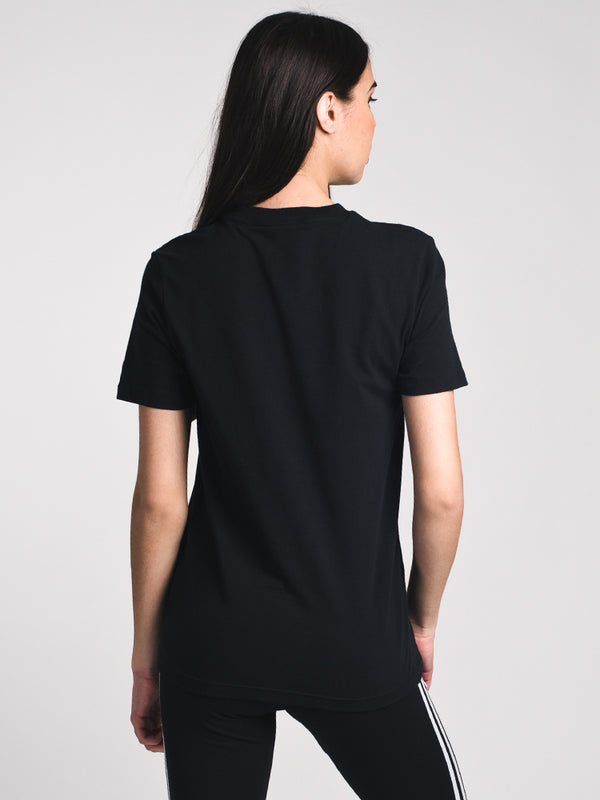 WOMENS TREFOIL SHORT SLEEVET-SHIRT - BLACK