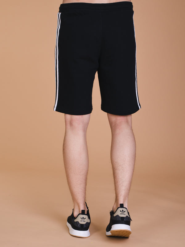 MENS 3STRIPES SHORT - BLACK
