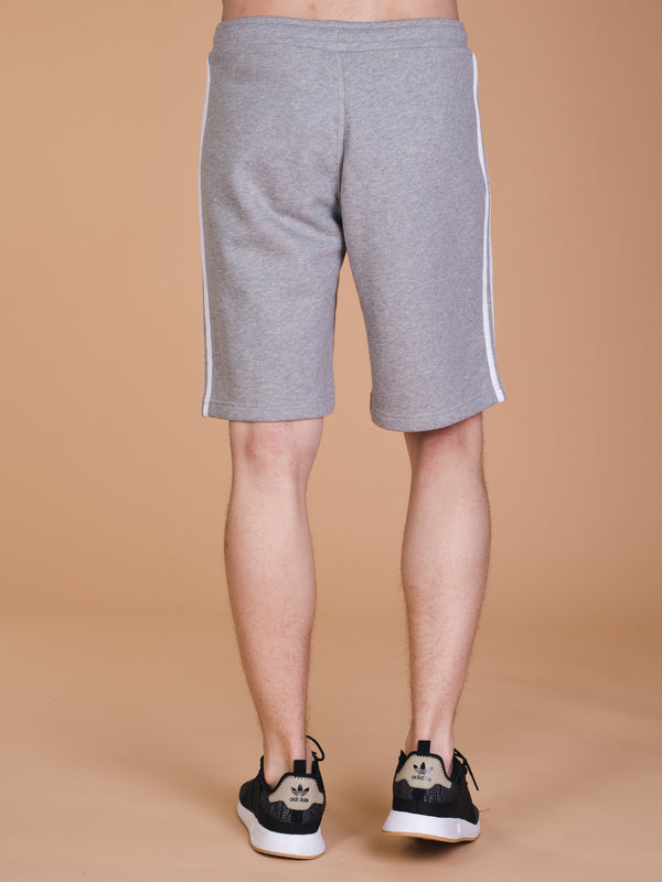 MENS 3STRIPES SHORT - HTHR GREY