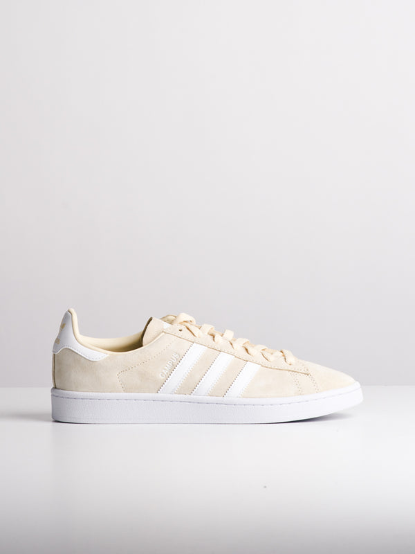 MENS CAMPUS LINEN/WHITE SNEAKERS- CLEARANCE