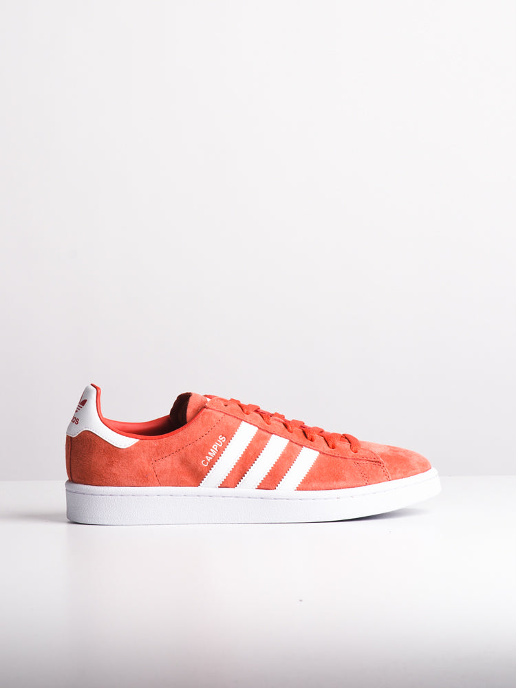 MENS CAMPUS SCARLET/WHITE SNEAKERS- CLEARANCE