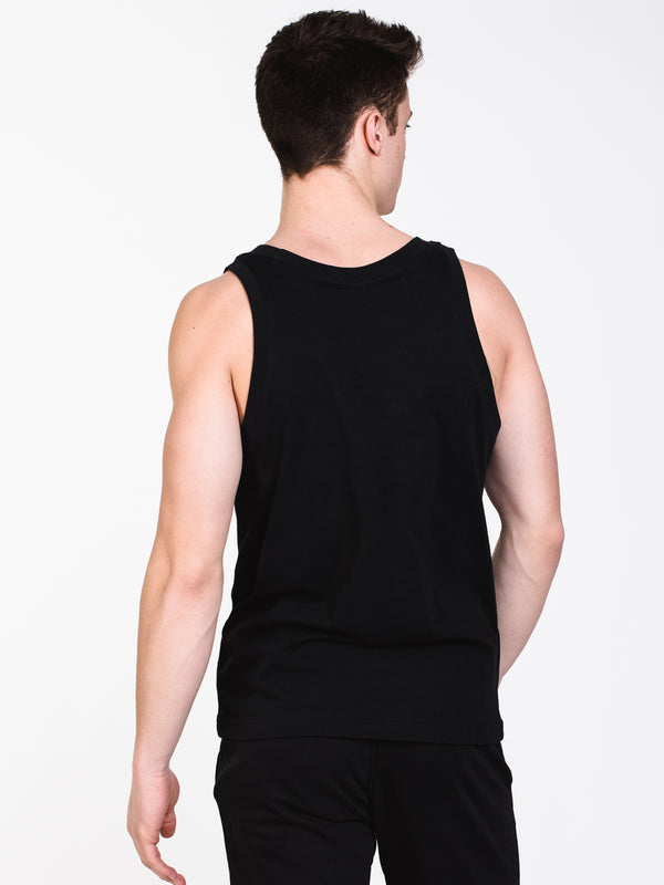 MENS TREFOIL TANK - BLACK
