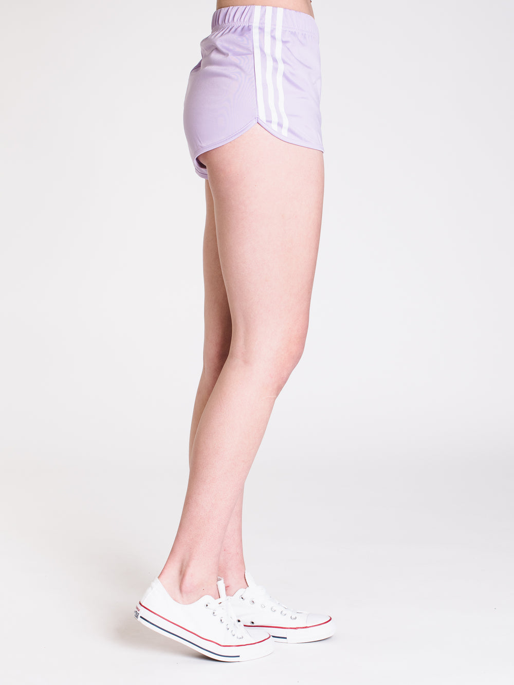 WOMENS 3STRIPE SHORT - PURPLE