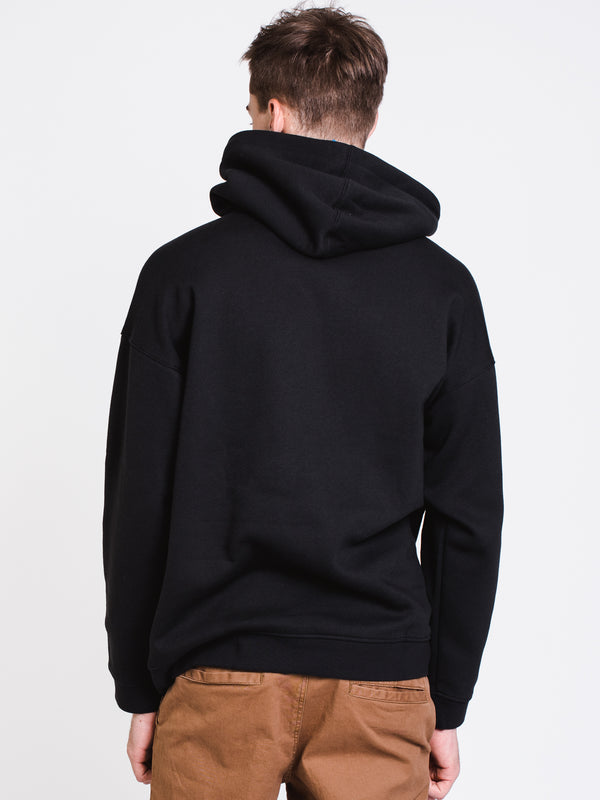 MENS LOCK UP HOODY - BLACK