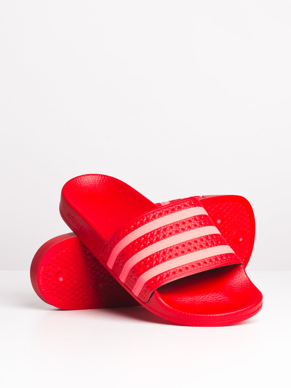 WOMENS ADILETTE W - SCARLET/RED