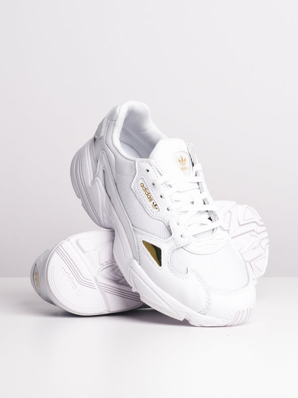 WOMENS FALCON W - WHITE/WHITE/GOLD