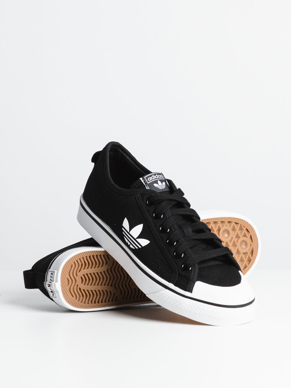 WOMENS NIZZA TREFOIL - BLACK/WHITE