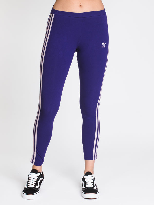 WOMENS 3 STR TIGHT - PURPLE