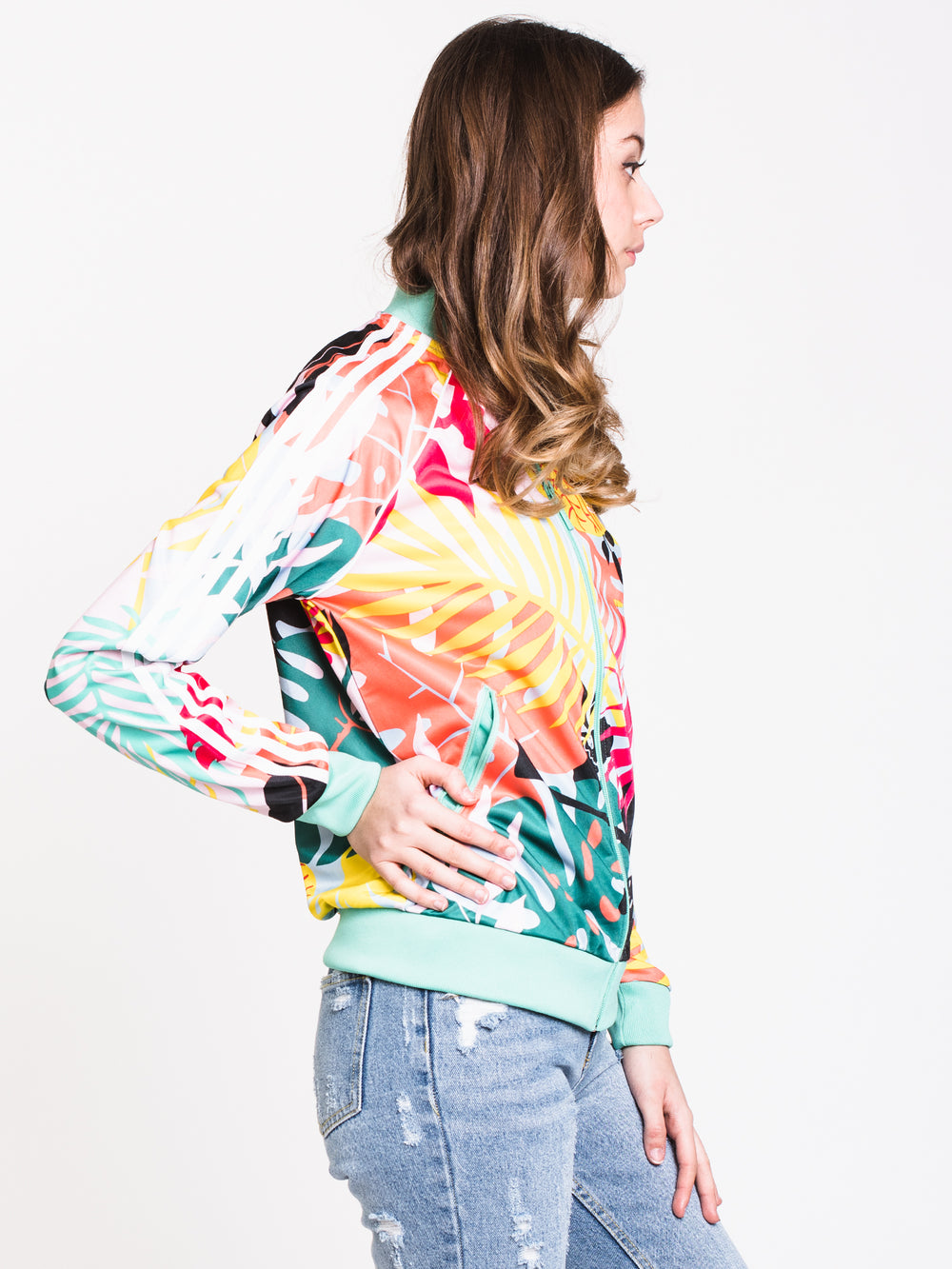 WOMENS TROPICALAGE GRAPHIC TRACK-FLO