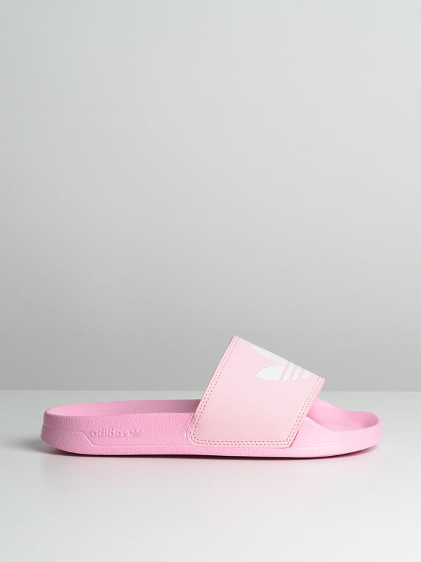 WOMENS ADILETTE - TRUE PINK/WHITE