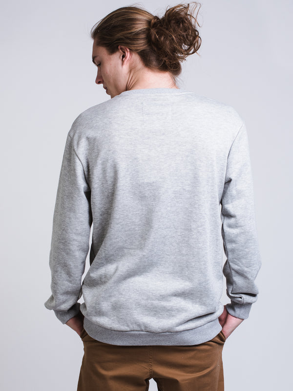 MENS UR FINESSE CREW - GREY