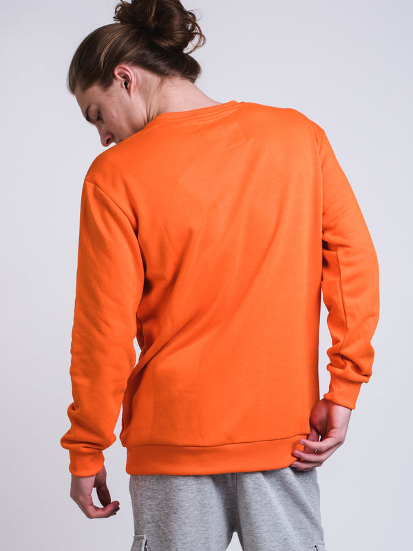 MENS UR FINESSE CREW - ORANGE