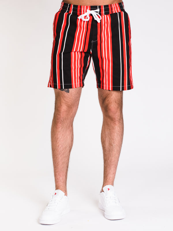 MENS UR EZ TWILL STRIPE SHORT