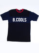 MENS HOMME B.COOLS S/S T - BLACK