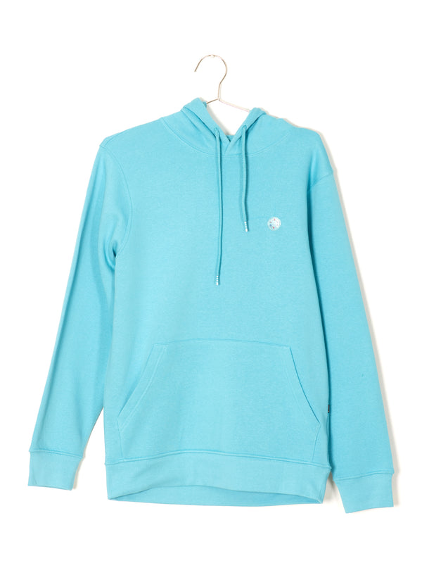 MENS B.COOLS PATCH PULLOVER HOOD - BLUE