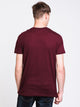 MENS VICTOR VNECK T - PORT