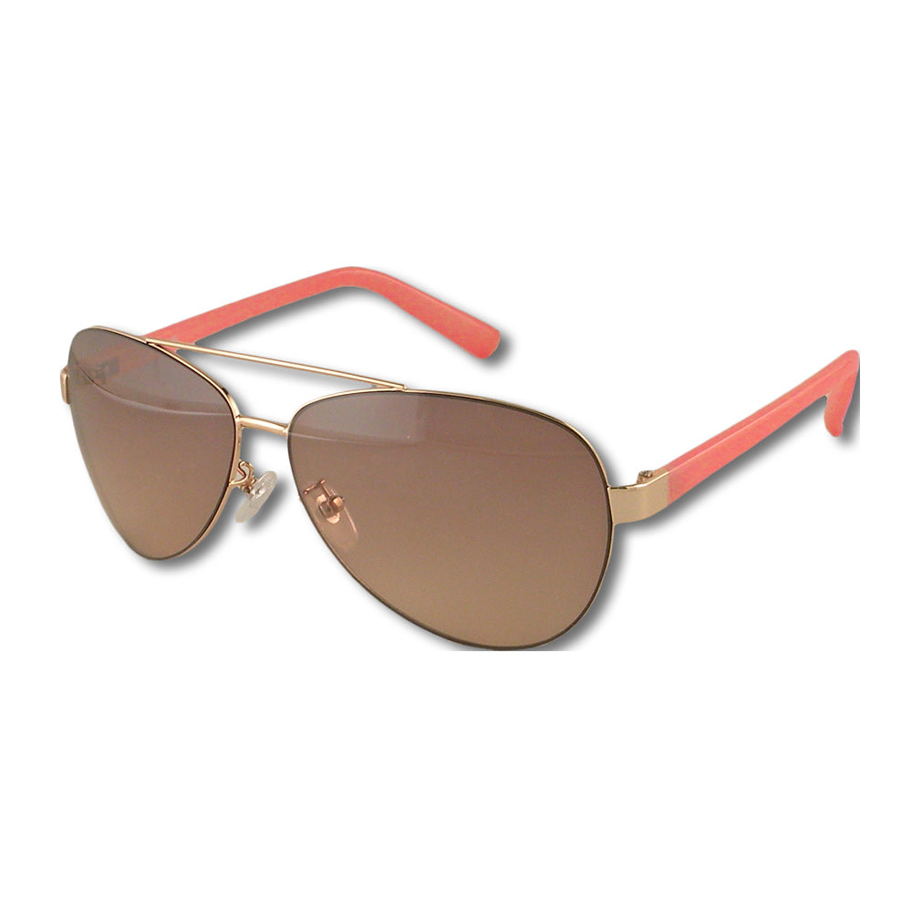 SORBET - GOLD W/PEACH SUNGLASSES