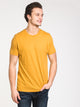 MENS VICTOR CREWNECK T - GOLD