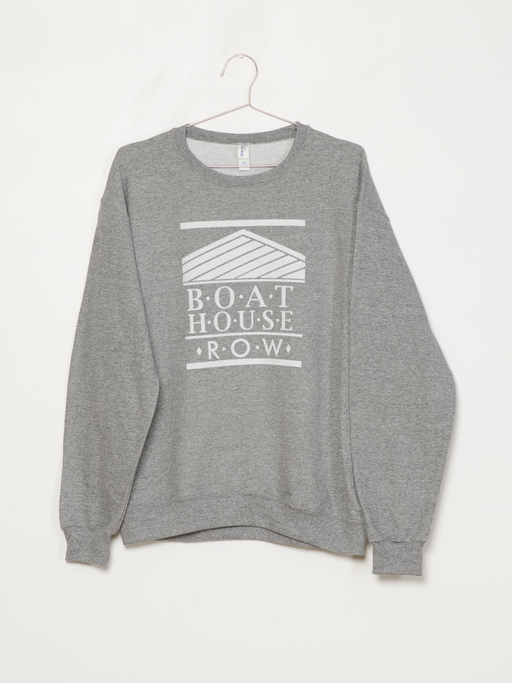 BOATHOUSE RETRO BH LOGO FLOCK - OX GREY