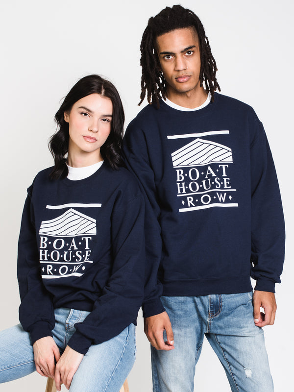 BOATHOUSE RETRO BH LOGO FLOCK - NAVY