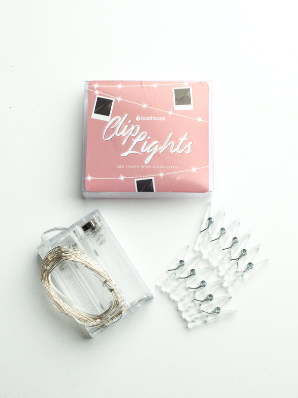 STRING PHOTO LIGHT/CLIPS