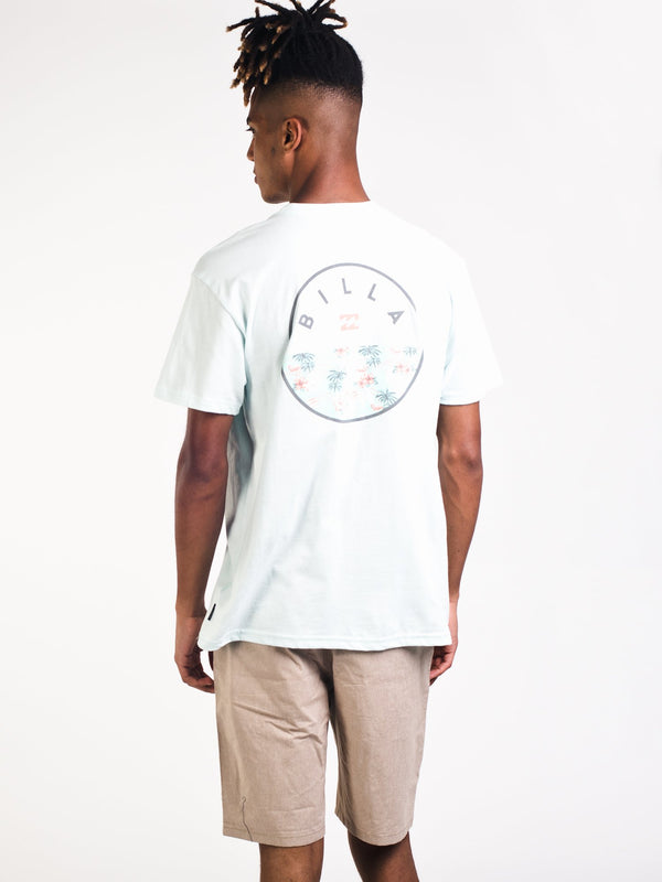 MENS ROTOR FILL SHORT SLEEVE T-SHIRT - SKY