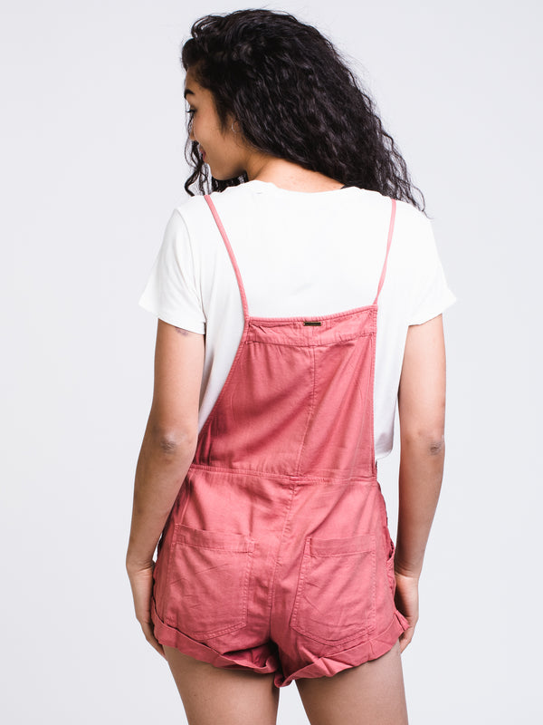 WOMENS WILD PURSUIT ROMPER - CLAY