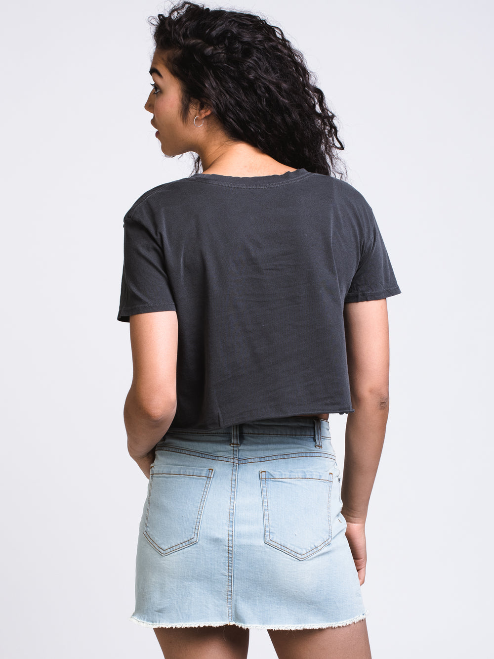 WOMENS DAYLIGHT FADES TEE - BLACK