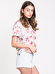 WOMENS ROLL CALL FLORAL Woven - SKY