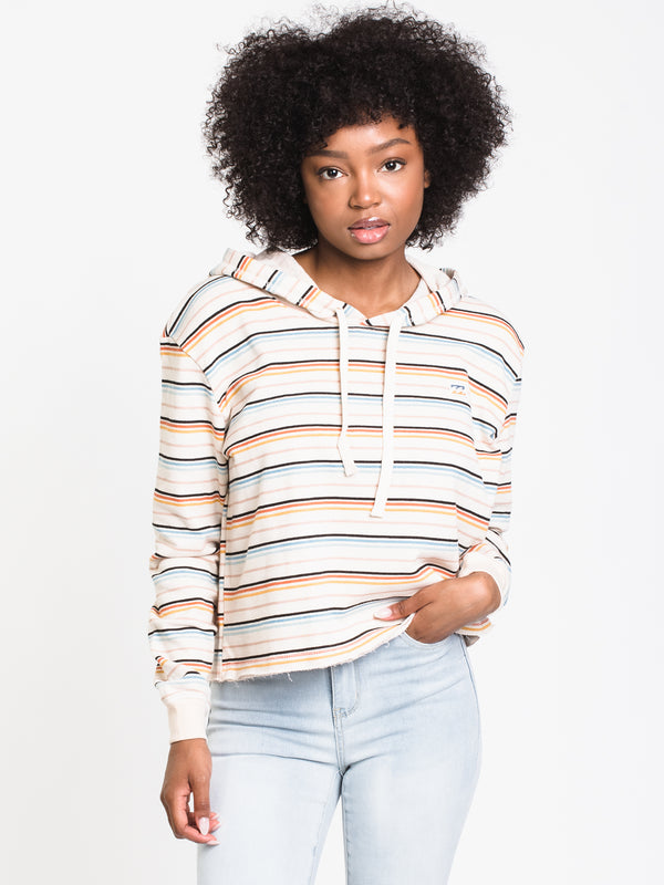WOMENS SOUL BABE PULLOVER HOODIE - STRIPE