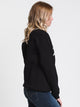 WOMENS BREAK OF DAWN PUFF CREW - BLK