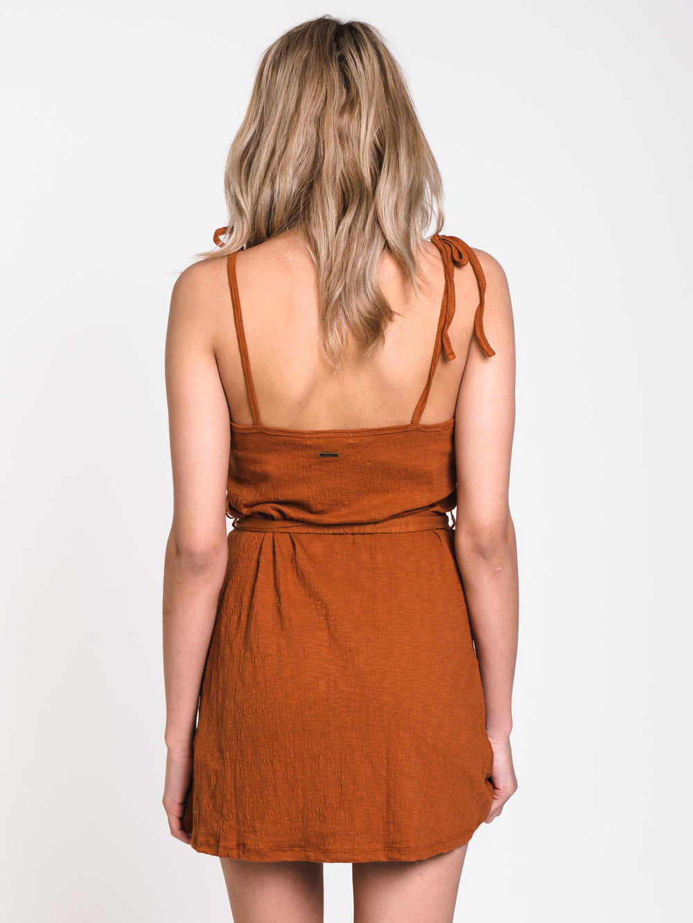 WOMENS GOING STEADY DRESS - SPICE