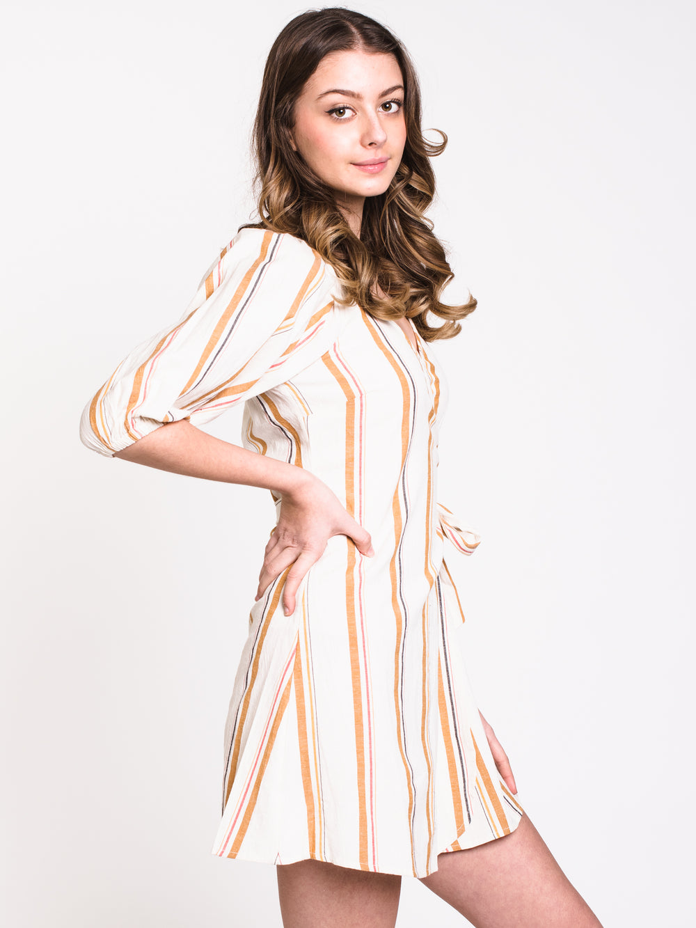 WOMENS BEST DRESSED DRESS - STRIPE - CLEARANCE