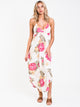 WOMENS LIKE MINDED DRESS - WHITE - CLEARANCE