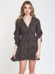WOMENS LOVE LIGHT DRESS - BLACK