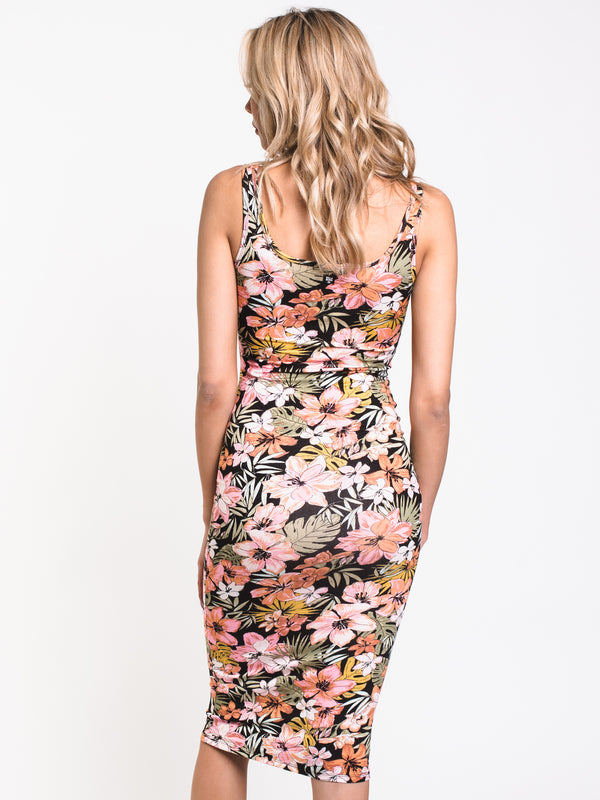 WOMENS SHARE MORE JOY DRESS - FLORAL