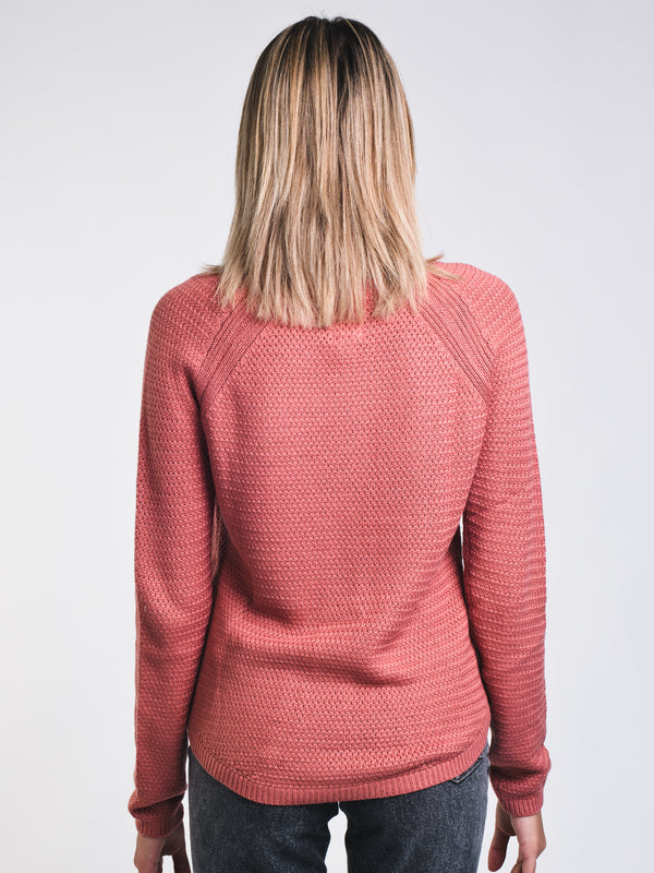 WOMENS ONLY THE SUN SWEATER - ASH ROSE